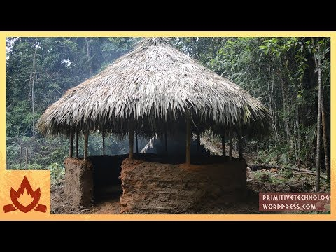 Primitive Technology: Round hut
