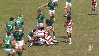 World Rugby U20 Highlights, Irlanda-Giappone 39-33