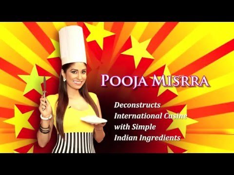 POOJA MISRRA FOOD SHOW -Pizza -PART 2