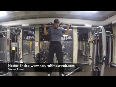 Back, Rear Pull Up, Natural Fitness Data