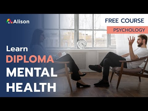 Diploma on Mental Health- Free Online Course with Certificate ...