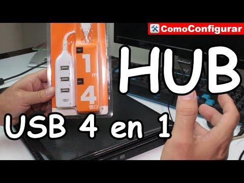 Hub Usb 4 Puertos Extension USB - Gadgets Accesorios para el PC
