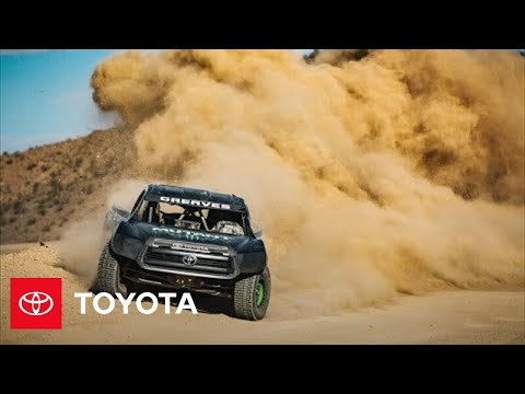 2018 NASCAR Goes West: Kicking Up Dirt Outside Las Vegas | Toyota Racing