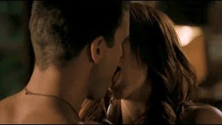 Ashlee Simpson Tongue Kiss (Melrose Place S01E08)