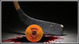 Ball Hockey Player Nearly KILLS Opposing Player