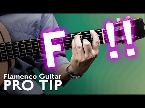 F Chord - Flamenco Guitar Pro Tip with Kai Narezo