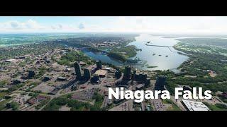 Microsoft Flight Simulator 2020 Niagara Falls | Tourist visit