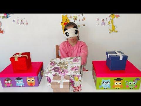 IŞILA SÜRPRİZ HEDİYELER ve ŞAKA Kutumda Ne Var? Funny Pranks Eğlenceli Çocuk Videosu