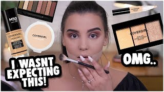 FULL FACE USING ONLY COVERGIRL PRODUCTS! CRUELTY FREE MAKEUP TUTORIAL | MakeupByAmarie