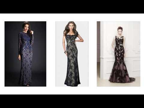 Abendkleider mit spitze, spitzenkleid lang, langes kleid mit spitze