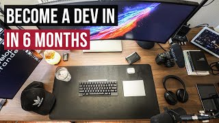 How I Would Become a Web Developer in 6 Months  | Legit Step By Step Tutorial