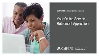 Your Online Service Retirement Application