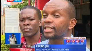 Presidential aspirant arrested in Nairobi after he threatened to jump from a builiding