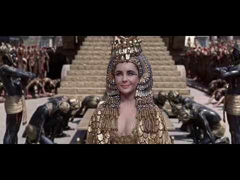 Cleopatra (1963 ) Elizabeth Taylor  Entrance into Rome  Scene (HD)