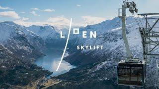 Loen Skylift in 5 minuten van de fjord naar 1011 meter En