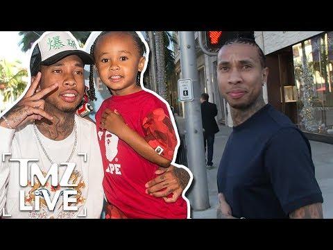 Tyga Got His 5-Year-Old Son Sued! | TMZ Live