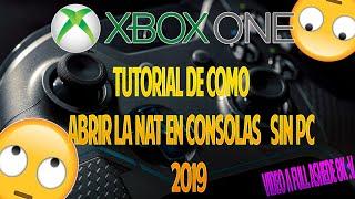 """Como Abrir La NAT En Xbox One Sin PC Y """"NUEVO MÉTODO"""" 2019 :v."""