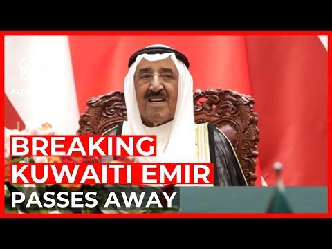 Kuwait's Emir Sheikh Sabah dies at age 91