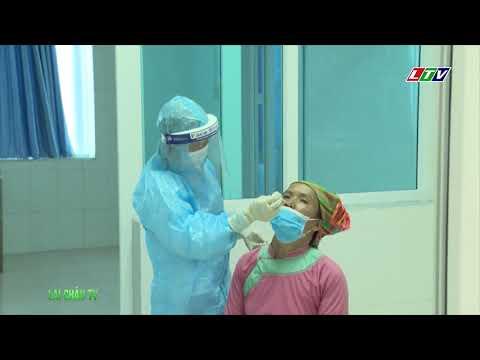 Test nhanh COVID-19 Tại bệnh viện Đa khoa Tỉnh Lai Châu
