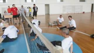 Сидячий волейбол