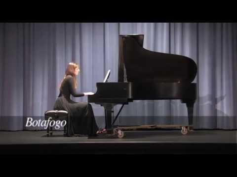 Andree-Ann performing Sorocaba and Botafogo, from Darius Milhaud's Saudades do Brasil.