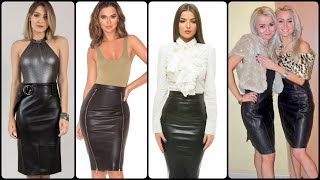 Latest And Stylish 2020 Leather Skirts Collection