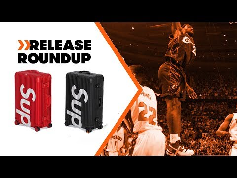 Supreme's Crazy Expensive Luggage + New Nike LeBron Retros | Release Roundup