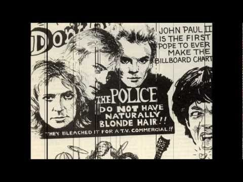 miss gradenko - the police -  synchronicity album