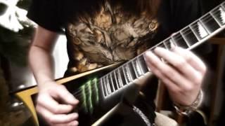 Children Of Bodom - Cry Of The Nihilist bridge/solos + ENDING BONUS cover