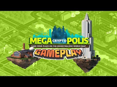 Ganhe Dinheiro Jogando o Game MegaCryptoPolis, Primeiro Saque de R$172 Reais ao Vivo !!! (GamePlay))