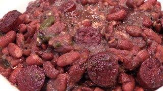 Cajun Red Beans, Rice, & Sausage