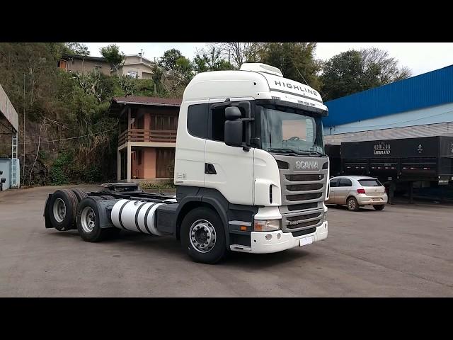 Vídeo do caminhão R420 420 6x2