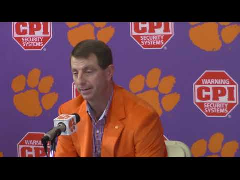 TigerNet: Dabo Swinney on Signing Day, Alabama, Pt. 1