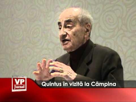 Quintus în vizită la Câmpina