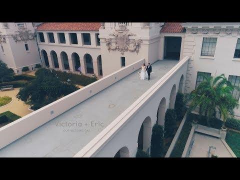 Victoria + Eric's Wedding Highlights at Allure Banquet Hall Langham Hotel and Pasadena City Hall