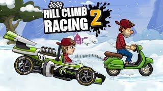 Машинки мультик для детей игры для мальчиков крутая игра гонка Hill Climb Racing 2 Серия 2
