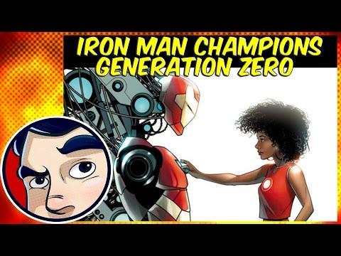 Iron Man (Riri Williams), Marvel's Champions, Generation Zero – Three in One