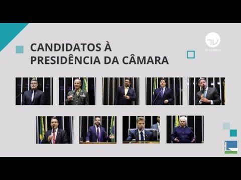 Nove deputados se candidatam à Presidência da Câmara - 18/01/21