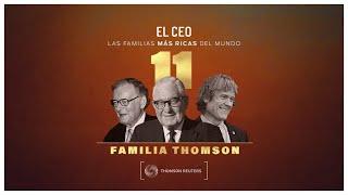 Las familias más ricas del mundo: Thomson       #canadá #medios #reuters #finanzas #woodbridge