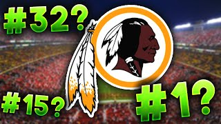 All 32 NFL Logos RANKED From WORST to FIRST