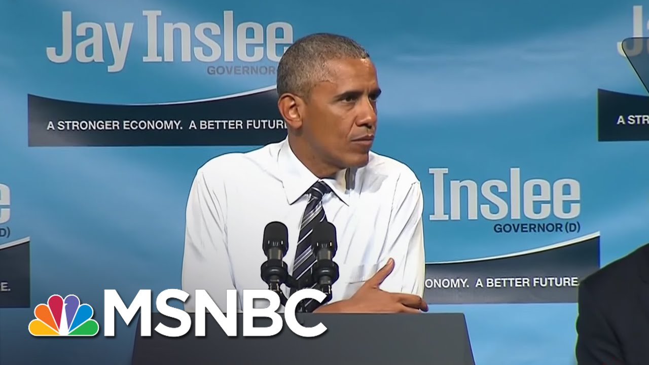 President Obama: 'We Don't Have Time For Bigotry' | The Last Word | MSNBC thumbnail