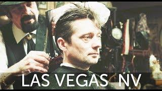 💈 Scissor Slinging Las Vegas Haircut Experience At Cliffs Barber Corral