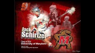 Jack Schirtzer 2018 High School Highlight Video  (Maryland Commit)
