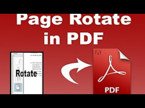 How to rotate PDF files in Pdf Xchange Viewer [Powerful Software, Bangla Tutorial]
