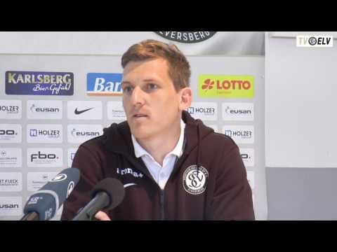 TV Elv // Pressekonferenz   1. FC Saarbruecken vs. SV Elversberg / 22.04.17