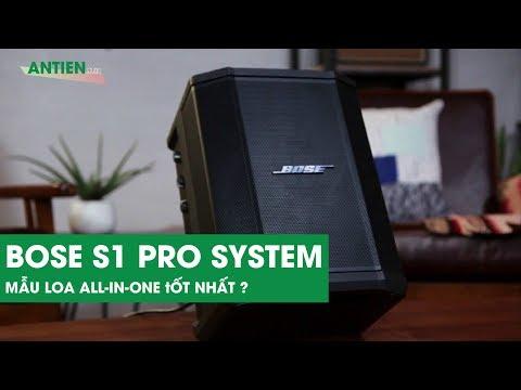 Đánh giá chi tiết Bose S1 Pro System: Chiếc loa all-in-one đáng giá cho người dùng thích ca hát