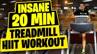 HIIT Treadmill 20-minute Workout