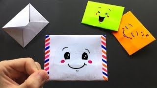 origami briefumschlag falten einfaches diy kuvert basteln mit papier din a4. Black Bedroom Furniture Sets. Home Design Ideas