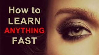 How To Learn Anything Fast | Hypnosis For Learning