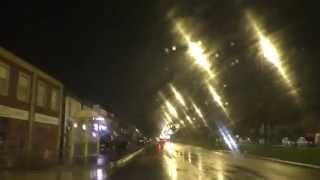 preview picture of video 'Night Drive On Valley Road, Longmoor Lane & Hall Lane, Liverpool, Merseyside, England'